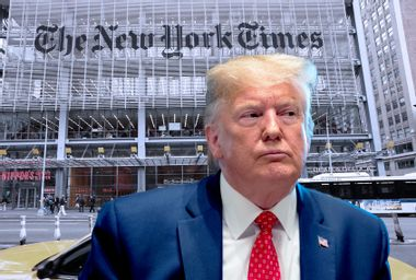 Image for Fired from The New York Times over Trump