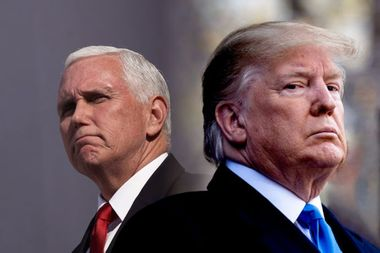 Trump has a Mike Pence insurance policy: The sanctimonious veep is implicated too