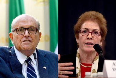 Rudy Giuliani; Marie Yovanovitch