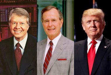 Jimmy Carter; George H. W. Bush; Donald Trump