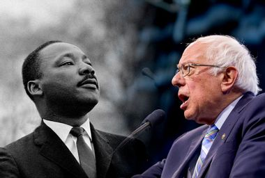 Martin Luther King Jr. and Bernie Sanders