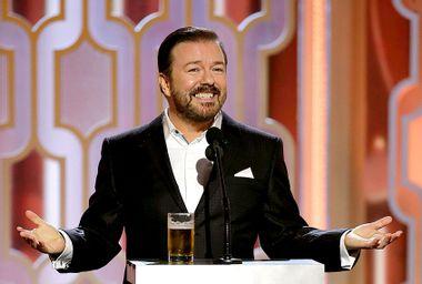 Ricky Gervais; Golden Globes
