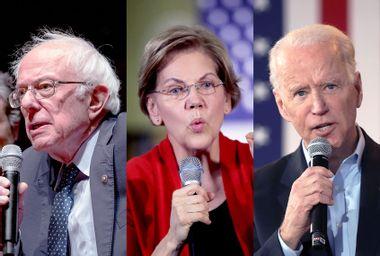 Bernie Sanders; Elizabeth Warren; Joe Biden