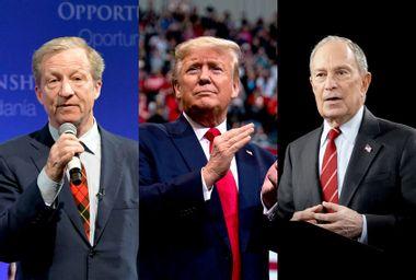 Donald Trump; Tom Steyer; Michael Bloomberg