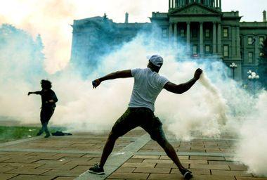 Tear Gas; Protest;