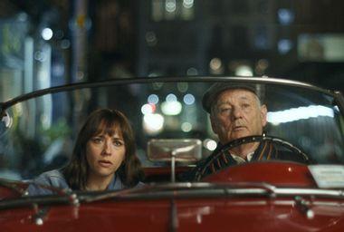 "Rashida Jones and Bill Murray in ""On the Rocks"""