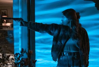 Image for Join Arya Stark for a gun-toting good time in HBO Max's action farce