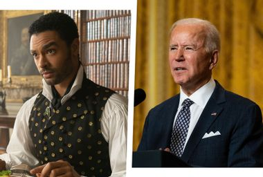 """From Biden to """"Bridgerton,"""" how our stuttering heroes bring a restoration of democracy"""