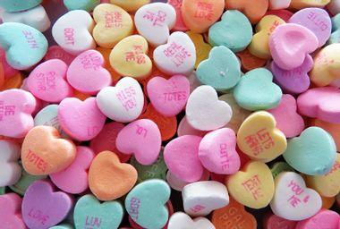 Conversation heart candies
