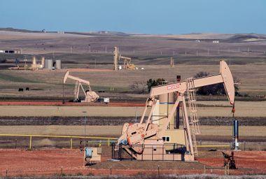 Oil Well; Montana