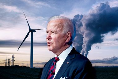 "Biden's climate plan knocked as ""bullsh*t"" by activists who dumped cow manure near White House"