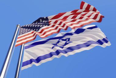 American Flag; Israeli Flag