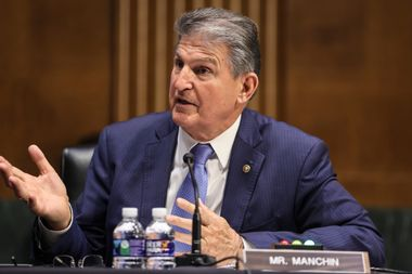Sen. Joe Manchin, D-West Virginia