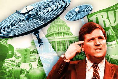 Tucker Carlson; Capitol Riot; UFO