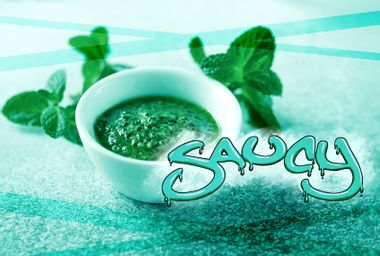 Mint sauce gets a bad rap as being boring, but we just gave it a summer glow-up