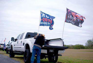 Trump Supporters Truck