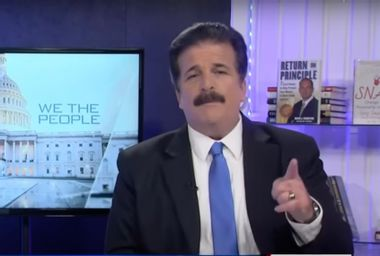 Former Newsmax host Dick Farrel