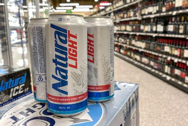 Cans of Natural Light