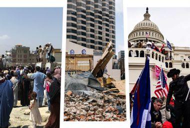 Afghanistan; Hurricane Ida; Capitol Riot