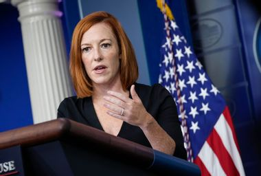 Eccentric Christian reporter causing headaches for Jen Psaki, White House press corps