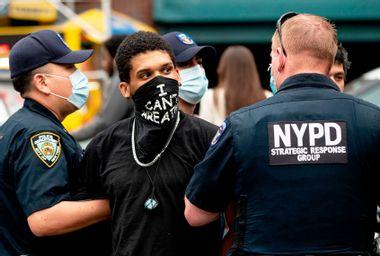 New York Police Department; Black Lives Matter protest