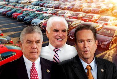 GOP congressmen reap millions in federal loans for personal car dealerships
