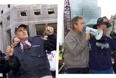 Rudy Giuliani; George W Bush