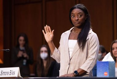 Our endless demands on Simone Biles