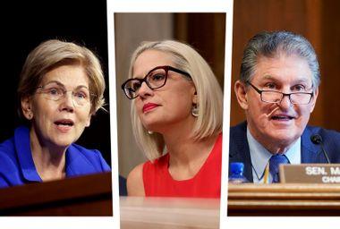 Elizabeth Warren; Kyrsten Sinema; Joe Manchin