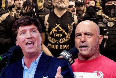 Tucker Carlson, Joe Rogan and the Proud Boys: How the fragility of the male ego fuels the far-right
