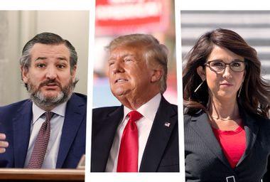 Ted Cruz; Donald Trump; Lauren Boebert