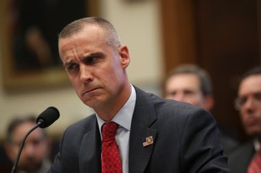 Former Trump campaign manager Corey Lewandowski
