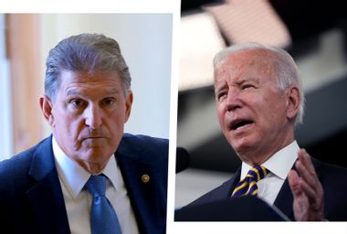 """""""I'm comfortable with zero"""": In tiff with Bernie Sanders, Joe Manchin admits he doesn't want a deal"""