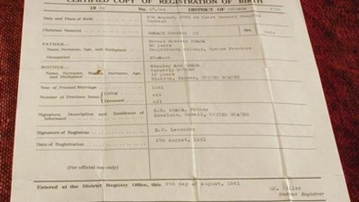 Birthers release forged Kenyan birth certificate for Obama | Salon.com