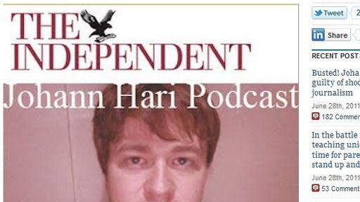 Johann Hari in UK plagiarism row | Salon com