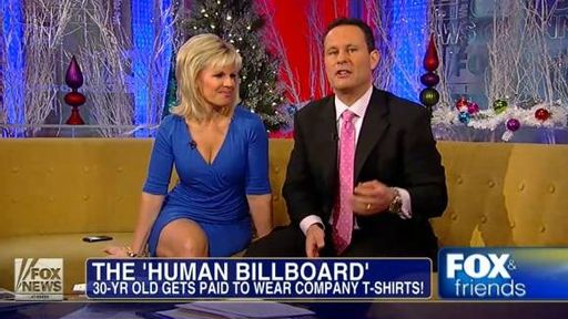 Gretchen Carlson: No pants allowed on