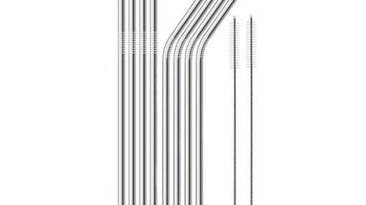 Make the world a little greener with stainless steel straws