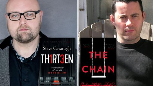 Authors Steve Cavanagh and Adrian McKinty: How growing up in Northern Ireland's Troubles shaped them