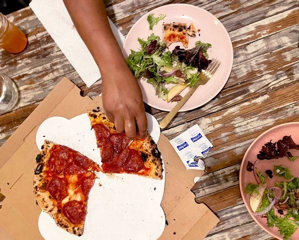 Lactaid Pizza