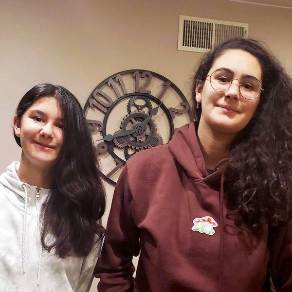 Ariana and Karina Lemus