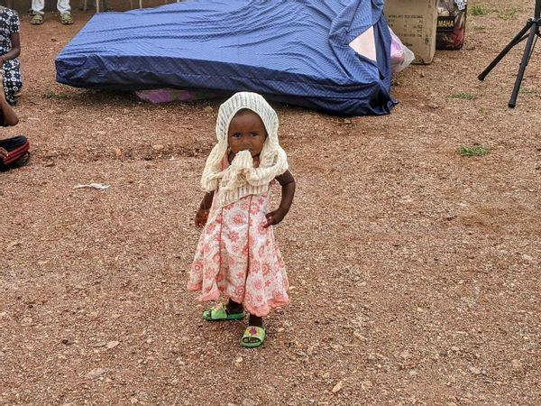 Tigrayan refugee girl in Um Rakuba, Sudan