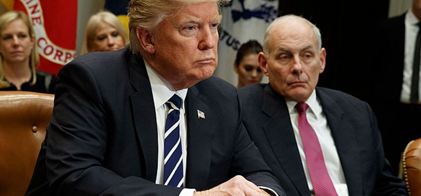 Image result for trump and john kelly