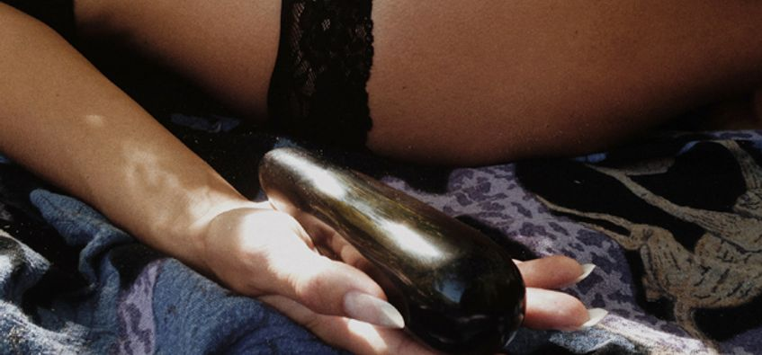 Indefinitely real crystal dildos have hit