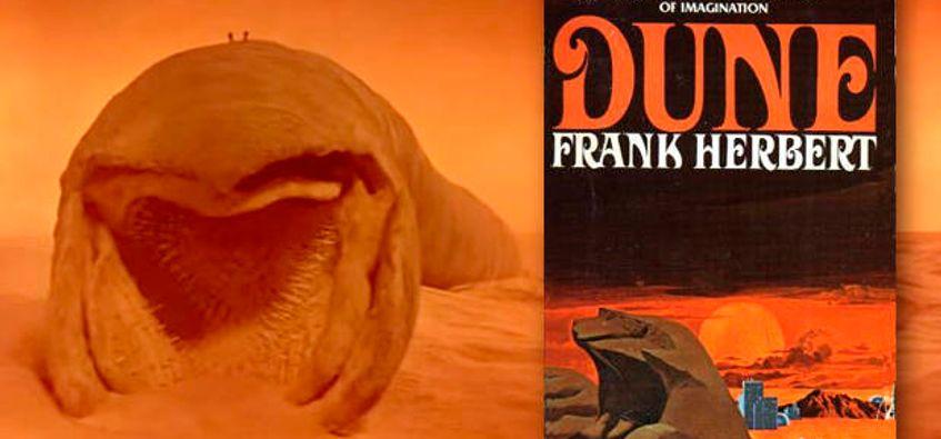 Dune Frank Herbert Book Cover