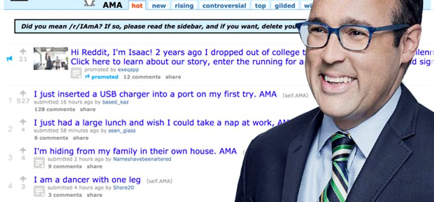 Cnn Editor Chris Cillizza S Reddit Ama Goes About As Well As You