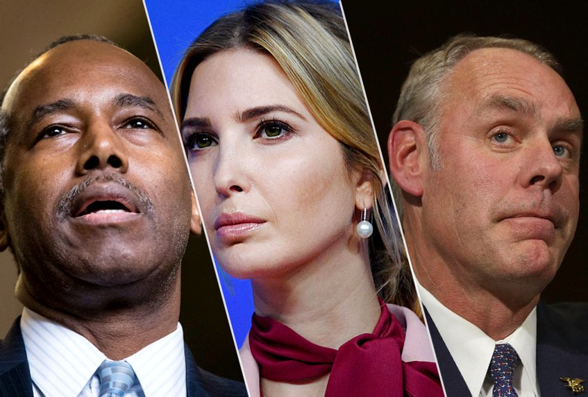 White House wheel of fortune: Inside the Trump circus of corruption