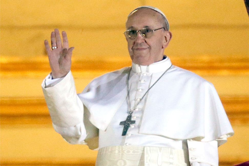 """Pope Francis: Capitalism is """"a new tyranny"""""""