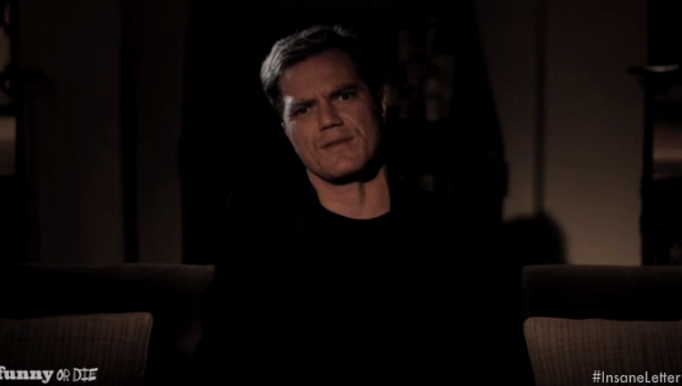 """Watch Michael Shannon's dramatic reading of """"deranged sorority girl's"""" email"""
