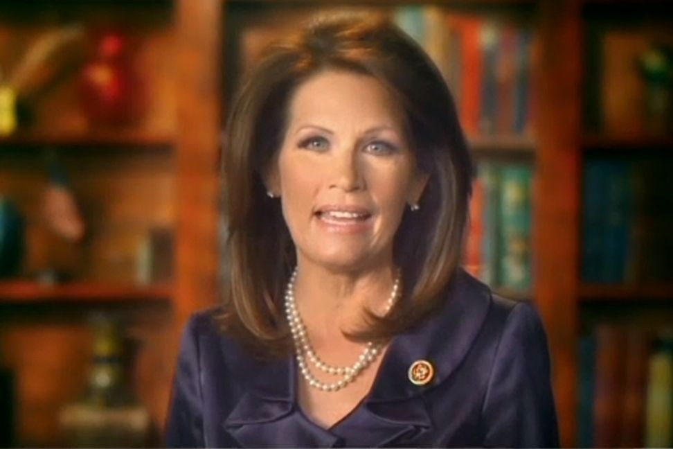"Michele Bachmann: Obama supports al-Qaida and ""end times"" are near"