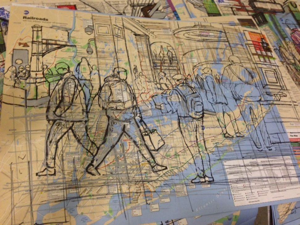 New York's most persecuted subway artist? | Salon.com